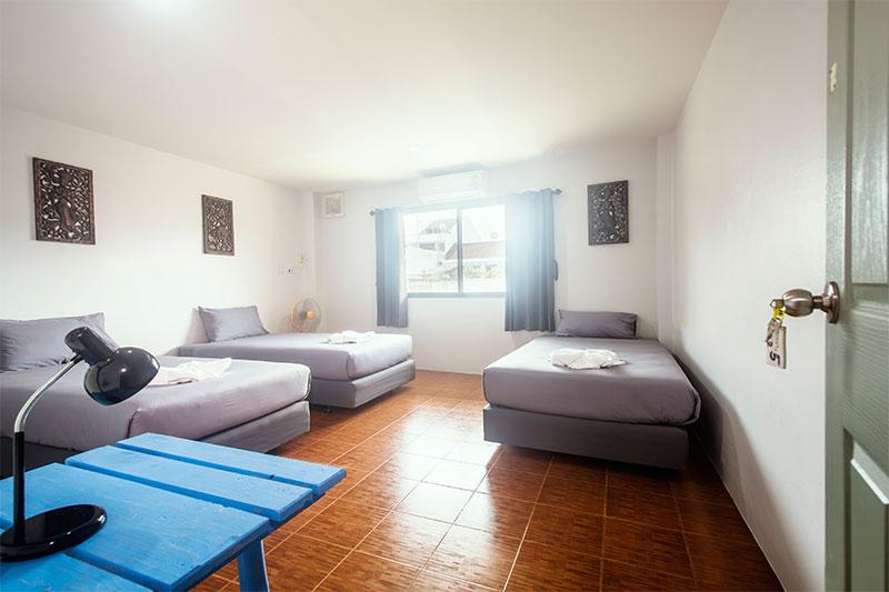 Triple Room @ Sleep Easy Krabi